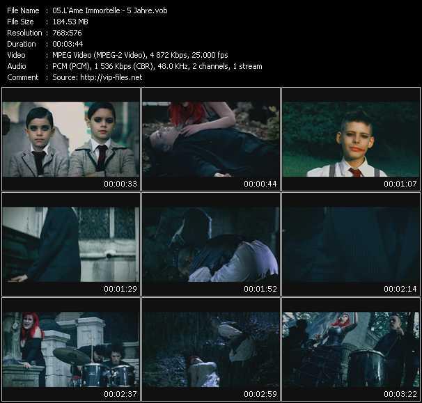 L'Ame Immortelle music video Publish2