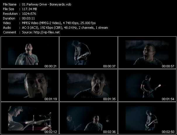 Parkway Drive HQ Videoclip «Boneyards»