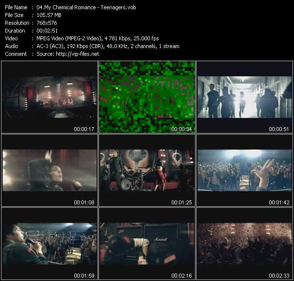 My Chemical Romance HQ Videoclip «Teenagers»
