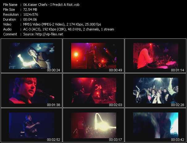 Kaiser Chiefs HQ Videoclip «I Predict A Riot»