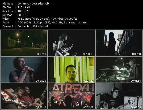Atreyu HQ Videoclip «Doomsday»