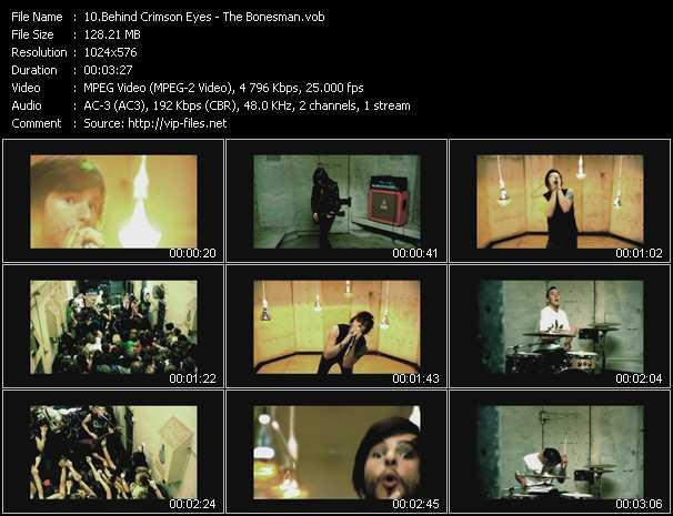 Behind Crimson Eyes HQ Videoclip «The Bonesman»
