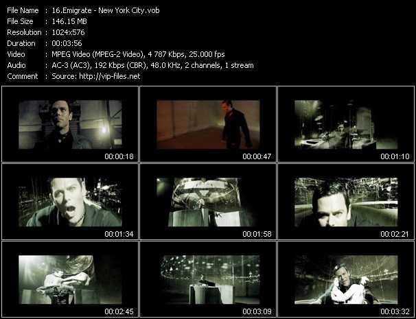 Emigrate HQ Videoclip «New York City»