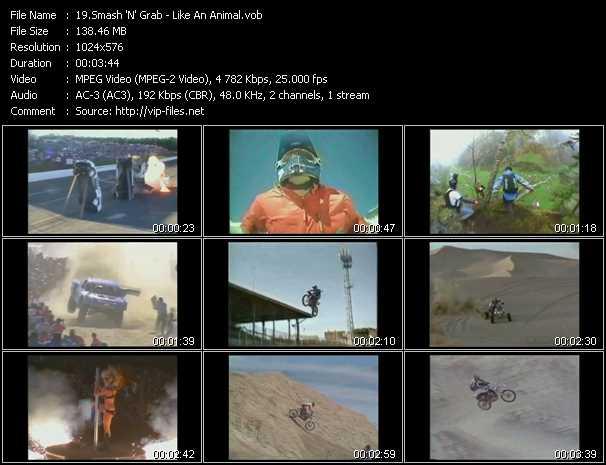 Smash 'N' Grab HQ Videoclip «Like An Animal»