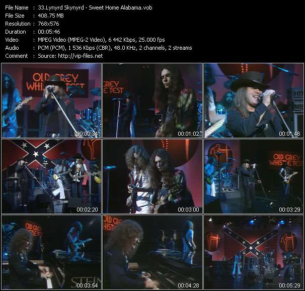 video lynyrd skynyrd travellin