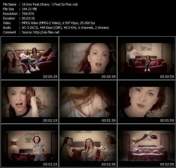 Kmc Feat. Dhany HQ Videoclip «I Feel So Fine»