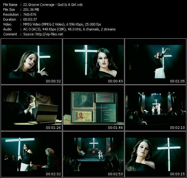 Groove Coverage HQ Videoclip «God Is A Girl»