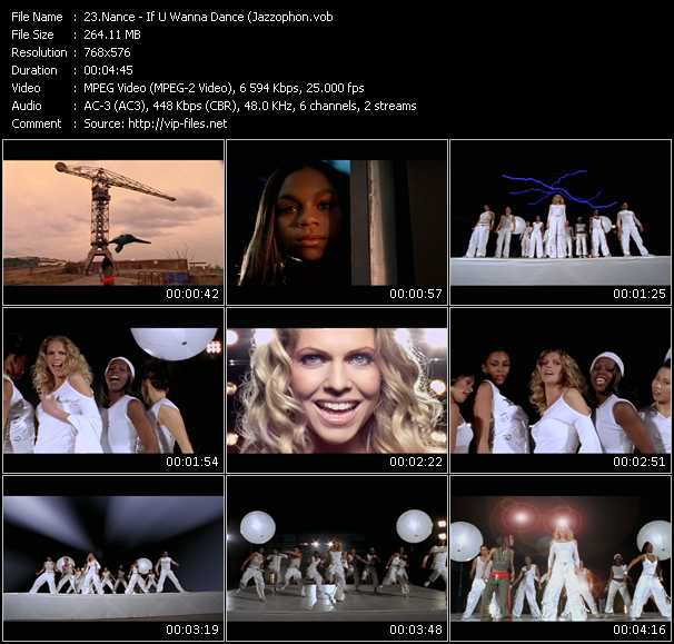 Nance HQ Videoclip «If U Wanna Dance»