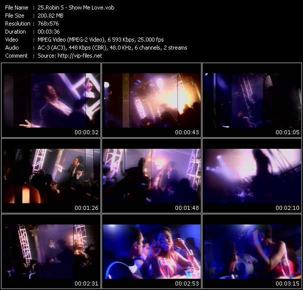 Robin S. HQ Videoclip «Show Me Love»