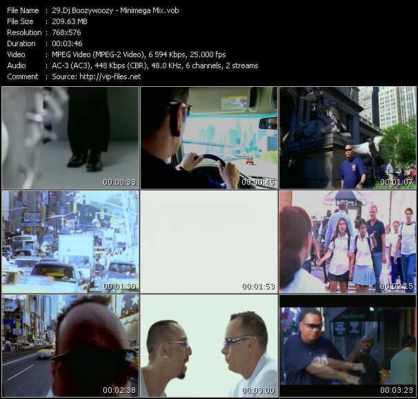 Dj Boozywoozy HQ Videoclip «Minimega Mix»