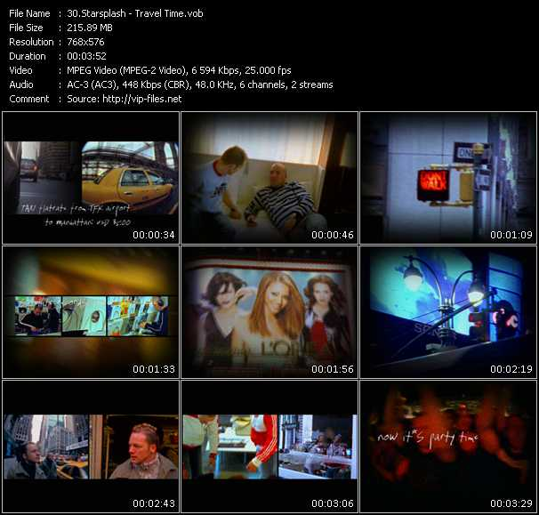 Starsplash HQ Videoclip «Travel Time»