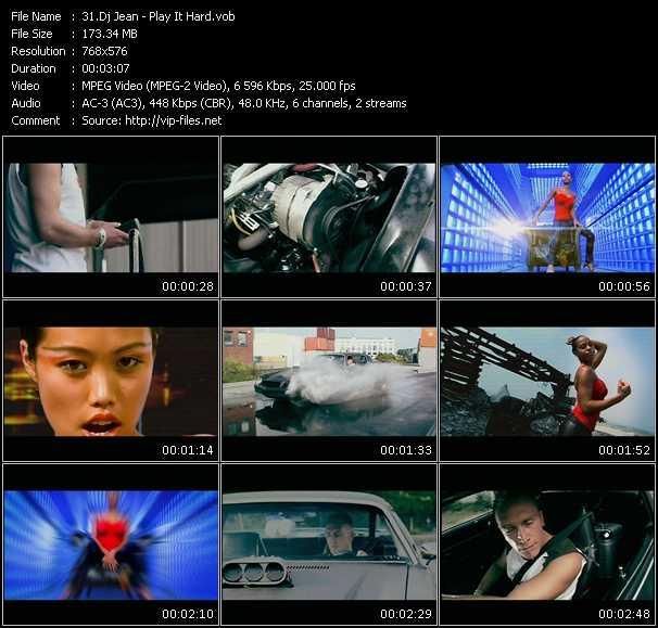 Dj Jean HQ Videoclip «Play It Hard»