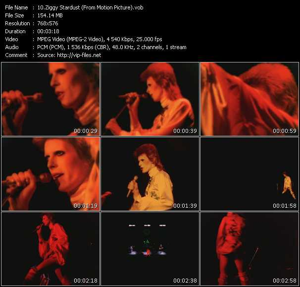 David Bowie HQ Videoclip «Ziggy Stardust (From Motion Picture)»