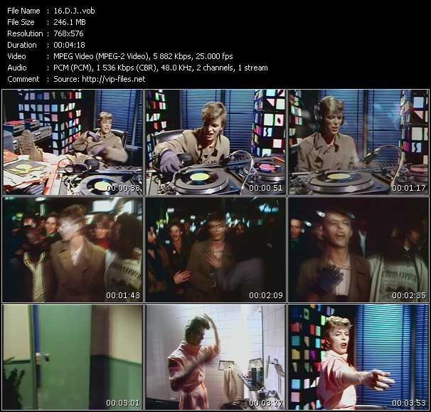 David Bowie HQ Videoclip «D.J.»