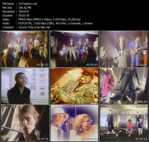 David Bowie HQ Videoclip «Fashion»