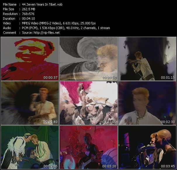 David Bowie HQ Videoclip «Seven Years In Tibet»