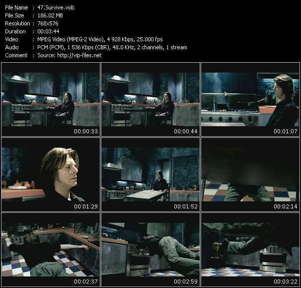 David Bowie HQ Videoclip «Survive»