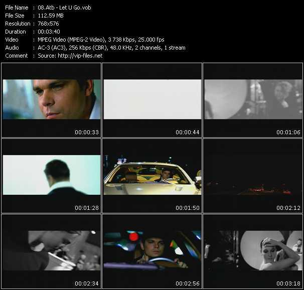 Atb HQ Videoclip «Let U Go»