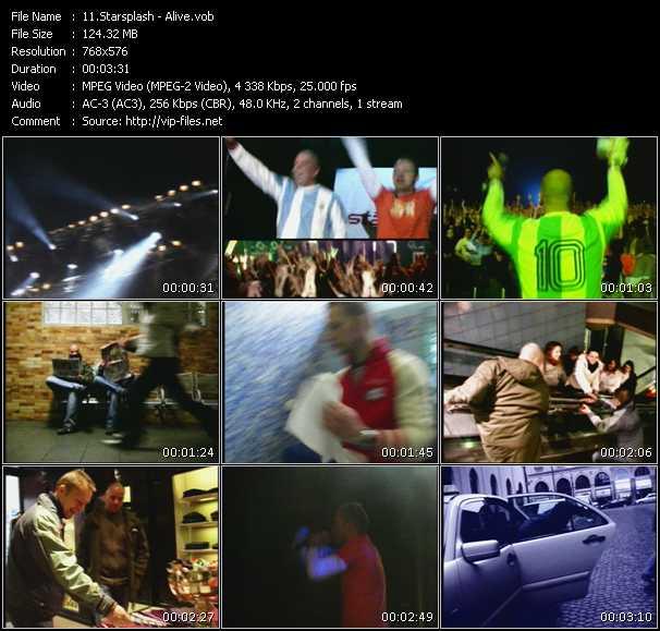 Starsplash HQ Videoclip «Alive»