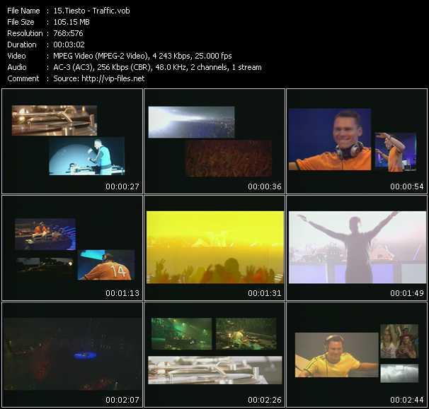 Tiesto HQ Videoclip «Traffic»