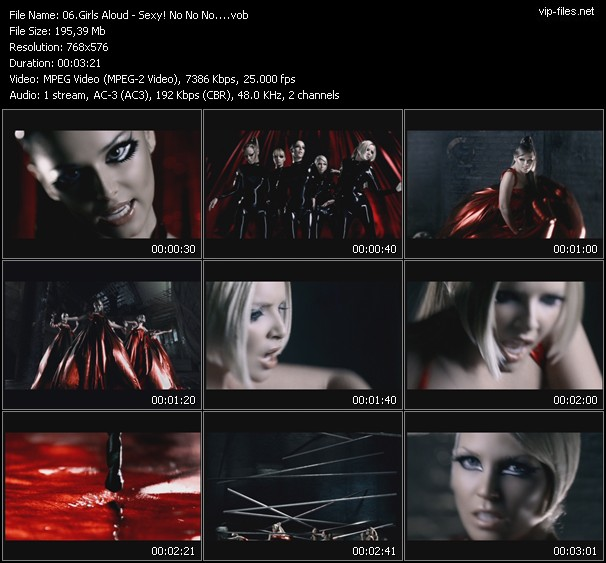 Girls Aloud HQ Videoclip «Sexy! No No No...»