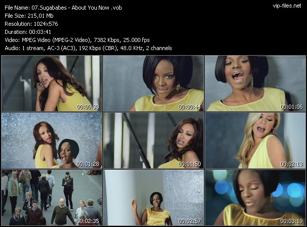 Sugababes HQ Videoclip «About You Now»