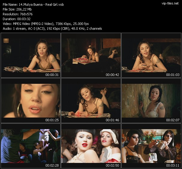 Mutya Buena HQ Videoclip «Real Girl»