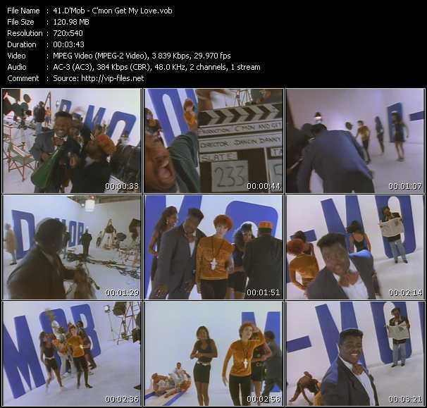 D-Mob HQ Videoclip «C'mon Get My Love»
