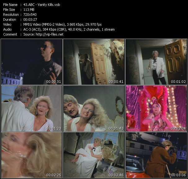 Abc HQ Videoclip «Vanity Kills»