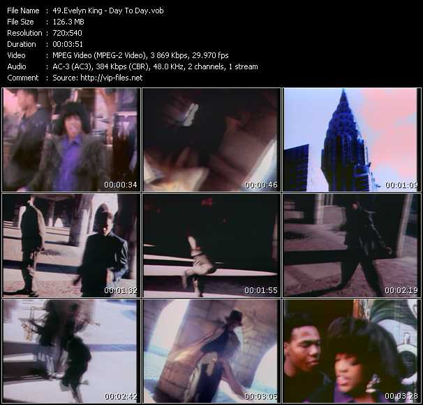 Evelyn King (Evelyn Champagne King) HQ Videoclip «Day To Day»
