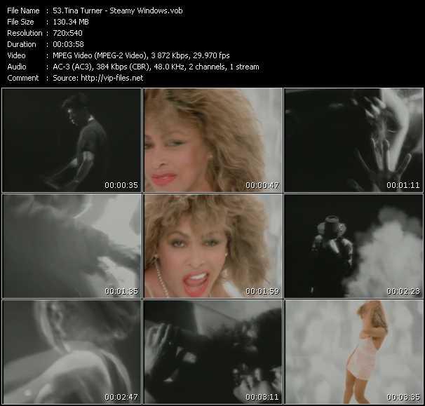 Tina Turner HQ Videoclip «Steamy Windows»