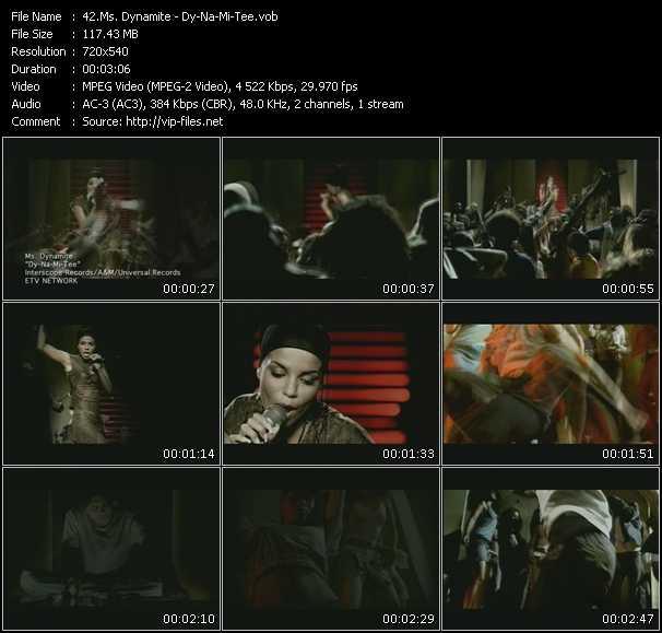 Ms. Dynamite HQ Videoclip «Dy-Na-Mi-Tee»