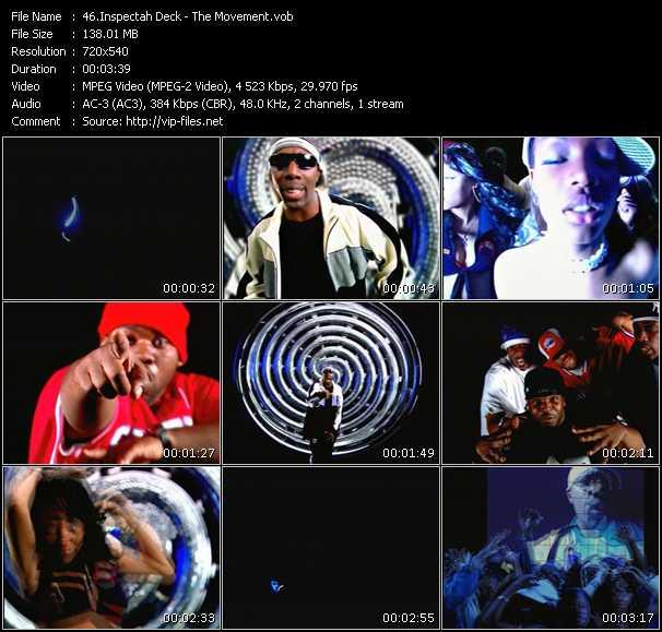 Inspectah Deck HQ Videoclip «The Movement»