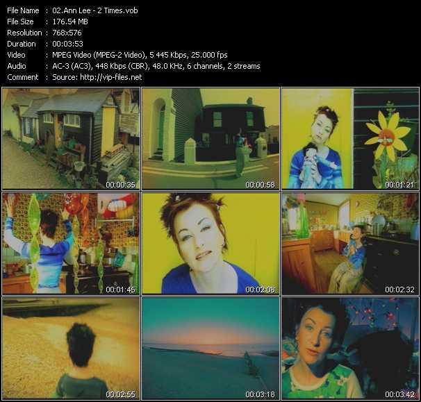 Ann Lee HQ Videoclip «2 Times»