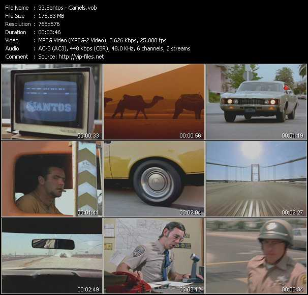 Santos HQ Videoclip «Camels»