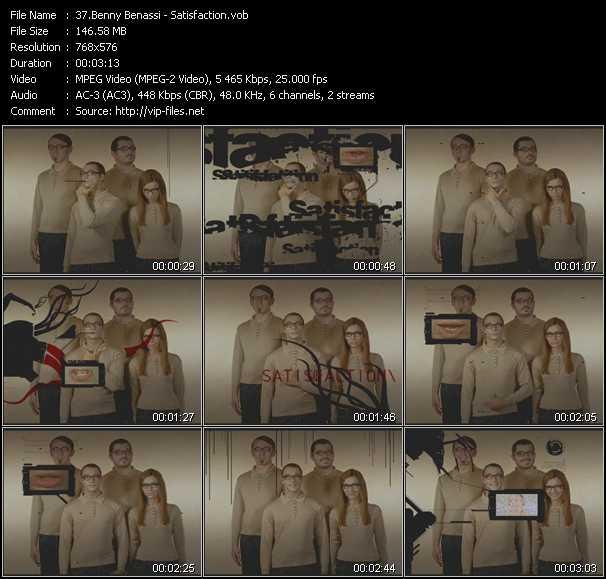 Benny Benassi HQ Videoclip «Satisfaction»