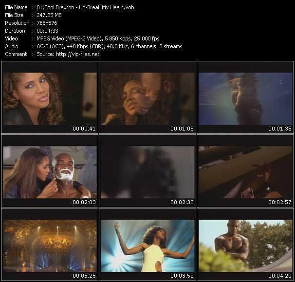 Toni Braxton HQ Videoclip «Un-Break My Heart»