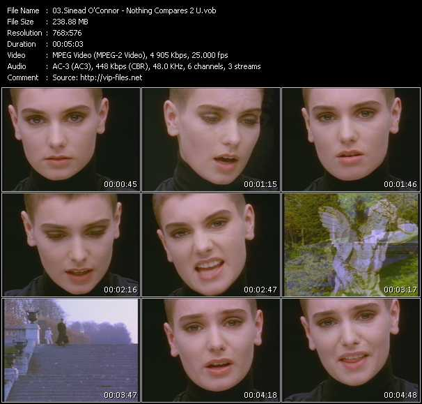 Sinead O'Connor HQ Videoclip «Nothing Compares 2 U»