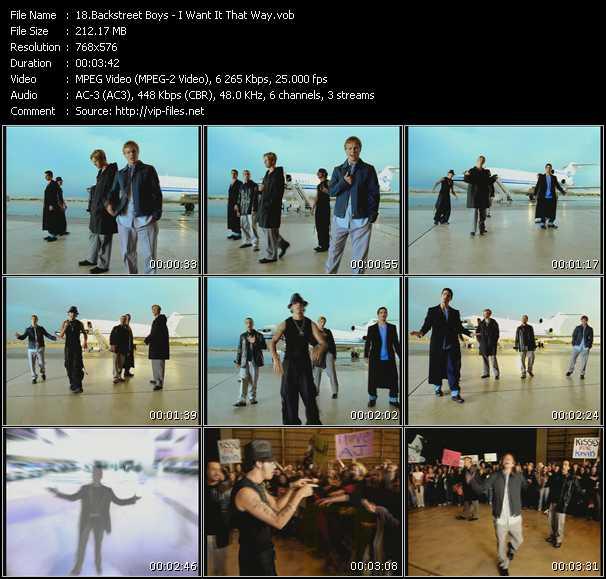 Backstreet Boys HQ Videoclip «I Want It That Way»