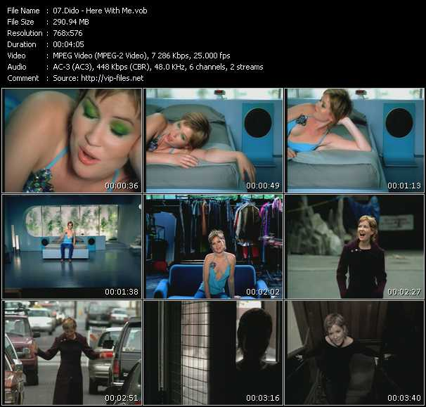 Dido HQ Videoclip «Here With Me»