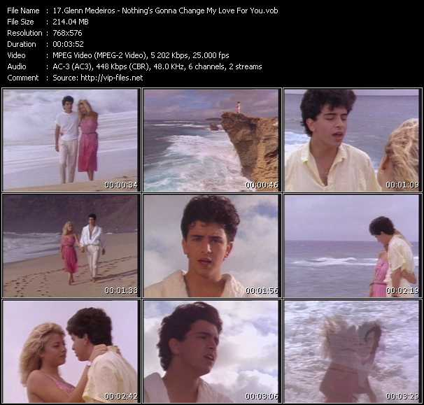 Glenn Medeiros HQ Videoclip «Nothing's Gonna Change My Love For You»
