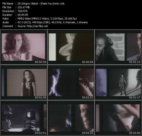 Gregory Abbott HQ Videoclip «Shake You Down»