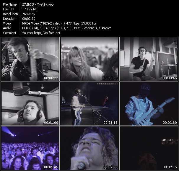 Inxs HQ Videoclip «Mystify»