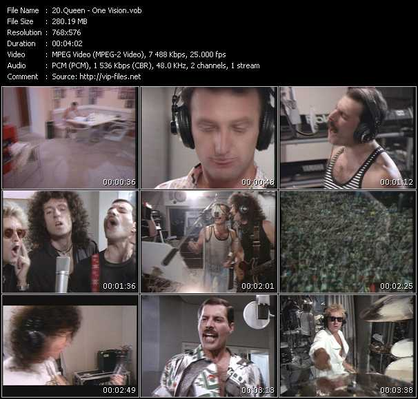 Queen video - One Vision