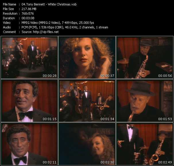 Tony Bennett HQ Videoclip «White Christmas»