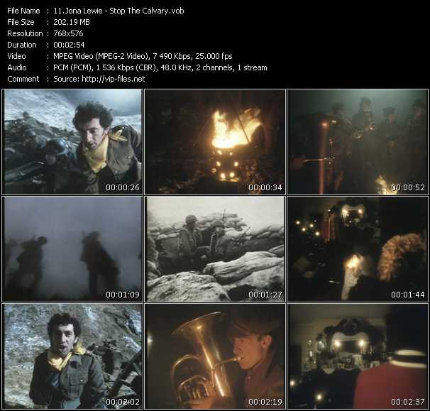 Jona Lewie HQ Videoclip «Stop The Calvary»