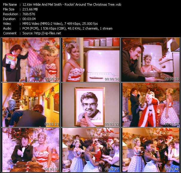 Kim Wilde And Mel Smith HQ Videoclip «Rockin' Around The Christmas Tree»