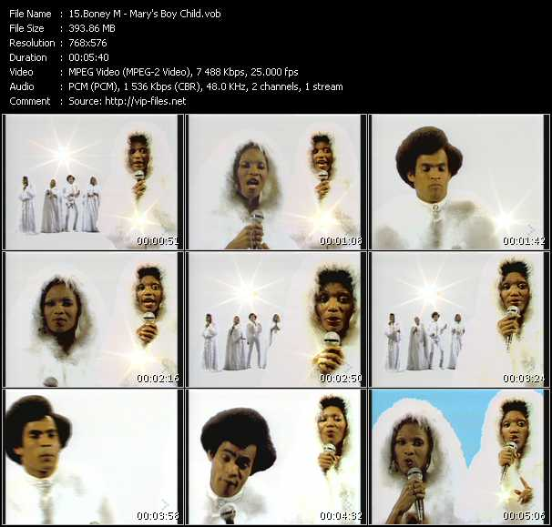 Boney M. HQ Videoclip «Mary's Boy Child»