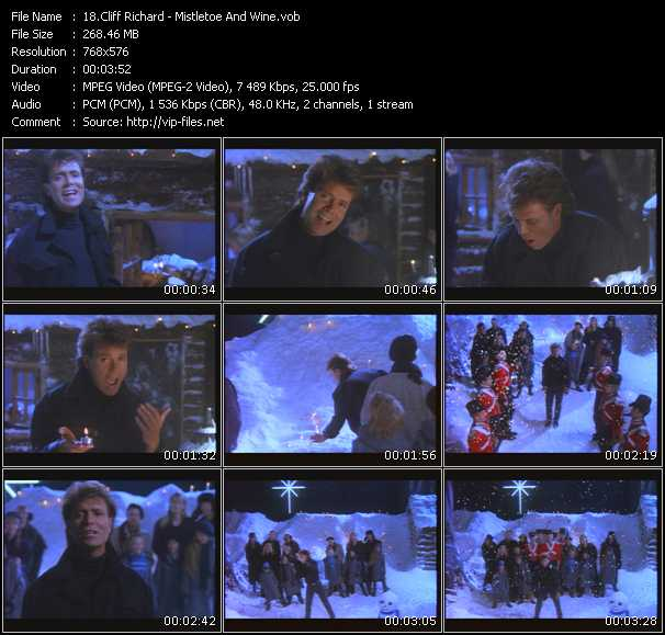Cliff Richard HQ Videoclip «Mistletoe And Wine»