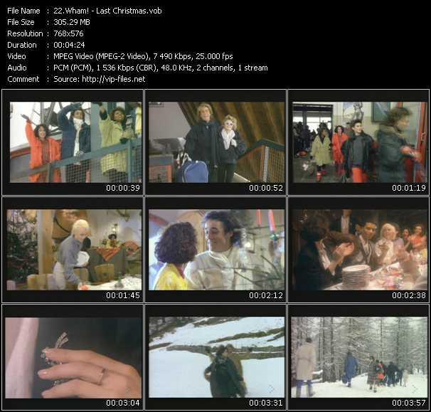 Wham! HQ Videoclip «Last Christmas»